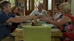 Gary Canning, Terese Willis, Karl Kennedy, Susan Kennedy, Sheila Canning in Neighbours Episode 7539