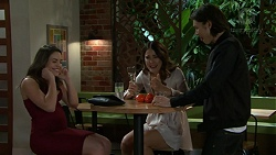Paige Novak, Elly Conway, Leo Tanaka in Neighbours Episode 7541