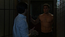 David Tanaka, Aaron Brennan in Neighbours Episode 7541