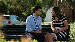 David Tanaka, Paige Novak in Neighbours Episode 7542