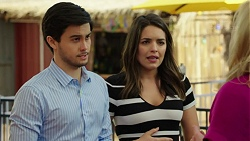 David Tanaka, Paige Smith in Neighbours Episode 7542