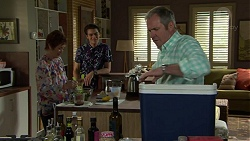 Susan Kennedy, Ben Kirk, Karl Kennedy in Neighbours Episode 7543