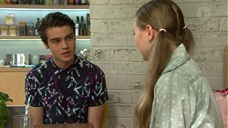 Ben Kirk, Willow Bliss in Neighbours Episode 7543