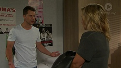 Mark Brennan, Steph Scully in Neighbours Episode 7544