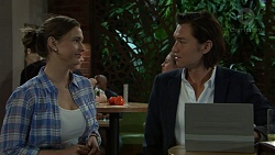 Amy Williams, Leo Tanaka in Neighbours Episode 7544