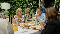 Sheila Canning, Paul Robinson, Terese Willis in Neighbours Episode 7544