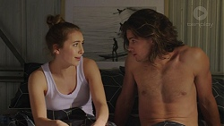 Piper Willis, Tyler Brennan in Neighbours Episode 7546