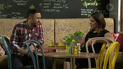 Noel Creighton, Paige Novak in Neighbours Episode 7546