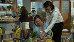 Amy Williams, Leo Tanaka in Neighbours Episode 7548