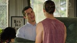 Jack Callaghan, Tyler Brennan in Neighbours Episode 7549