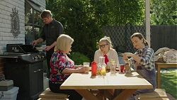 Gary Canning, Sheila Canning, Xanthe Canning, Amy Williams in Neighbours Episode 7549