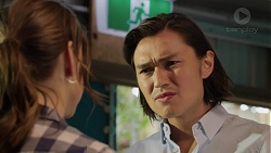 Amy Williams, Leo Tanaka in Neighbours Episode 7549