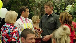 Sheila Canning, Aaron Brennan, Gary Canning, Terese Willis in Neighbours Episode 7549