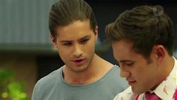 Tyler Brennan, Aaron Brennan in Neighbours Episode 7549
