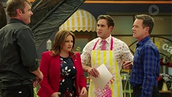 Gary Canning, Terese Willis, Aaron Brennan, Paul Robinson in Neighbours Episode 7549