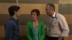 David Tanaka, Susan Kennedy, Karl Kennedy in Neighbours Episode 7549
