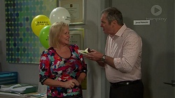 Sheila Canning, Karl Kennedy in Neighbours Episode 7549