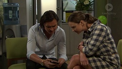 Leo Tanaka, Amy Williams in Neighbours Episode 7550