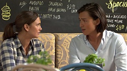 Amy Williams, Leo Tanaka in Neighbours Episode 7550