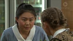 Li-Kim Chen, Piper Willis in Neighbours Episode 7550