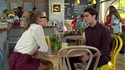 Xanthe Canning, Ben Kirk in Neighbours Episode 7550