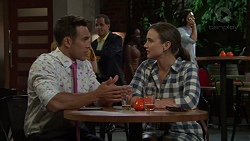 Aaron Brennan, Amy Williams in Neighbours Episode 7550