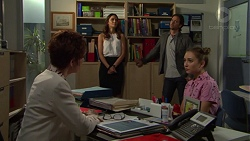 Susan Kennedy, Elly Conway, Brad Willis, Piper Willis in Neighbours Episode 7551