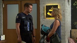 Mark Brennan, Steph Scully in Neighbours Episode 7551