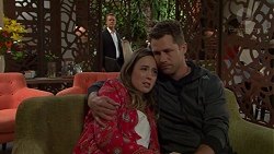 Paul Robinson, Sonya Mitchell, Mark Brennan in Neighbours Episode 7551
