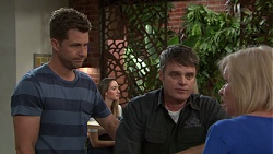 Mark Brennan, Gary Canning, Sheila Canning in Neighbours Episode 7552
