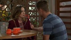 Sonya Mitchell, Mark Brennan in Neighbours Episode 7552