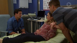 Dr Rob Carson, Sonya Mitchell, Mark Brennan in Neighbours Episode 7552