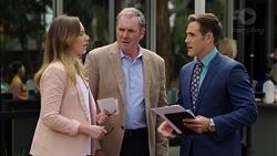 Sonya Mitchell, Karl Kennedy, Aaron Brennan in Neighbours Episode 7554