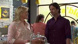 Lauren Turner, Brad Willis in Neighbours Episode 7555