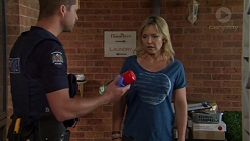 Mark Brennan, Steph Scully in Neighbours Episode 7555