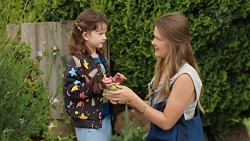Nell Rebecchi, Josie Lamb in Neighbours Episode 7555