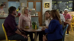 Brad Willis, Lauren Turner, Piper Willis, Terese Willis in Neighbours Episode 7555