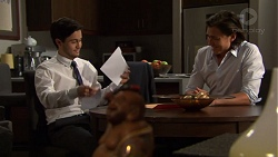 David Tanaka, Leo Tanaka in Neighbours Episode 7555