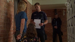 Steph Scully, Nell Rebecchi, Mark Brennan in Neighbours Episode 7555