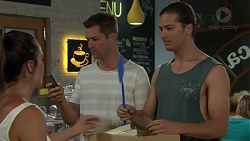 Paige Novak, Mark Brennan, Tyler Brennan in Neighbours Episode 7556