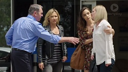 Karl Kennedy, Steph Scully, Victoria Lamb, Ellen Crabb in Neighbours Episode 7557