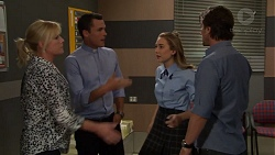 Lauren Turner, Jack Callaghan, Piper Willis, Brad Willis in Neighbours Episode 7557