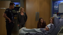 Mark Brennan, Steph Scully, Victoria Lamb, Ellen Crabb in Neighbours Episode 7557