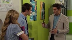 Xanthe Canning, Ben Kirk, Finn Kelly in Neighbours Episode 7559