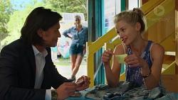 Leo Tanaka, Amy Williams, Magda Verbinska in Neighbours Episode 7559