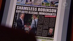 Paul Robinson in Neighbours Episode 7559