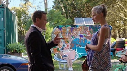 Paul Robinson, Magda Verbinska in Neighbours Episode 7560
