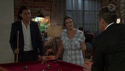 Leo Tanaka, Amy Williams, Paul Robinson in Neighbours Episode 7560
