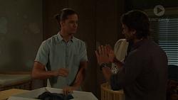 Tyler Brennan, Brad Willis in Neighbours Episode 7561