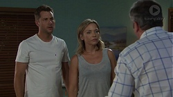 Mark Brennan, Steph Scully, Karl Kennedy in Neighbours Episode 7561